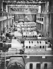 紅磡鶴園發電廠內的渦輪大堂。(圖片及資料由香港社會發展回顧項目提供)