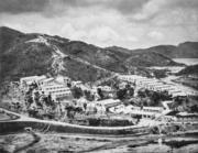 昔日交通不便,大欖涌工地建有宿舍讓工人居住。(圖片及資料由香港社會發展回顧項目提供)