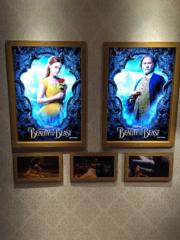 日本東京汐留Caretta 46樓舉行《美女與野獸》展覽。(Janice Hui攝)