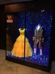 電影《美女與野獸》主角的禮服。(Janice Hui攝)