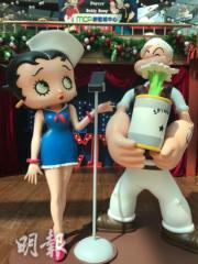 Popeye x Betty Boop郵輪派對@新都城中心(歐嘉俊攝)