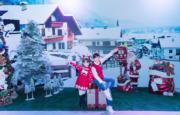 白色飄雪屋@數碼港商場