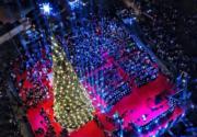 【世界各地聖誕樹】黎巴嫩首都貝魯特(法新社)