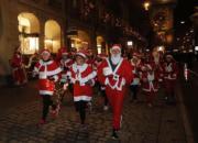 瑞士聖誕慈善跑(新華社)