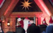 芬蘭羅凡尼米聖誕老人村的聖誕老人 (法新社)