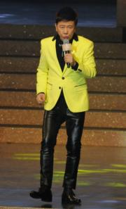 港台《十大中文金曲》40周年,尹光以表演嘉賓身分現身,大唱經典金曲。(資料圖片)