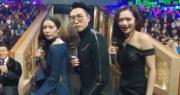 麥明詩、陸浩明及馮盈盈在《勁歌頒獎禮》上大跳抖肩舞,3人被批跳得差。(資料圖片)
