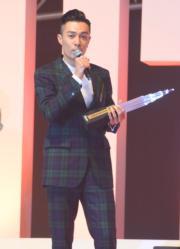 星夢娛樂今年杯葛《勁爆頒獎禮》,「一哥」周柏豪卻霸氣地說他自己選擇照樣出席。(資料圖片)