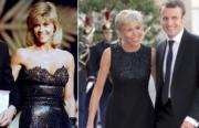 左圖為1989年荷李活女星珍芳達 (法新社資料圖片)。右圖為布麗吉特與丈夫馬克龍(Paris Match YouTube影片截圖)。
