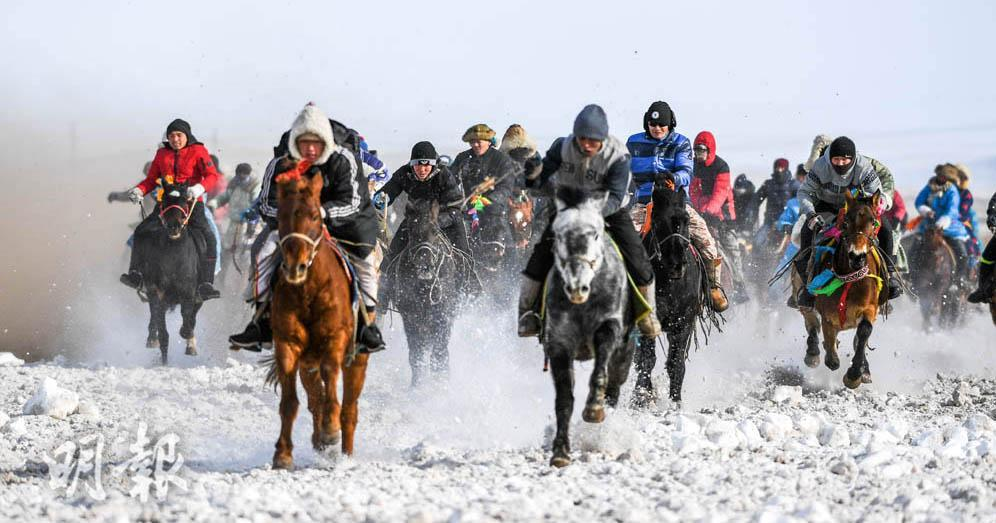 【內蒙】冬季那達慕 賽馬賽駱駝 不一樣的冬日暖意