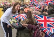 【王妃懷孕造型】Kate Middleton 奢華「運動 look」現身