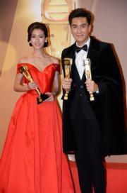 馬國明與蔡思貝。