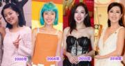 出爐視后唐詩詠由2000年到2018年,愈來愈有女人味。(資料圖片)