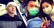 王浩信拍攝《致命復活》一場飛車戲時出意外,證明他熱愛演戲,投入度十足。(資料圖片)