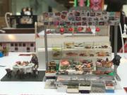 【喜•細看香港 新春微型藝術展@奧海城】海鮮檔(歐嘉俊攝)