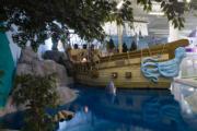 美國Inventionland Design Factory辦公室佈置成海盜船。(Inventionland Design Factory網站)