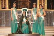 冠軍李思佳(中)、亞軍劉思延(左)、季軍雷莊𠒇 (右二)、友誼小姐楊筑晶(右一)。