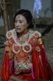 「青蘭」陳瀅為救姊妹犧牲。