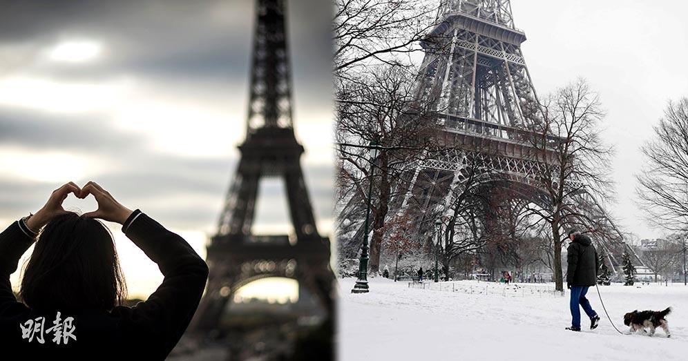 【浪漫之都】巴黎鐵塔的四季