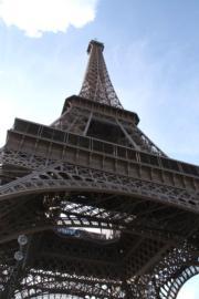 法國巴黎艾菲爾鐵塔(黃廷希攝)