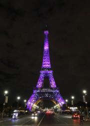 巴黎艾菲爾鐵塔(法新社)