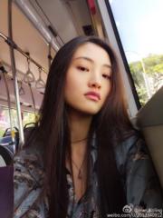 【2017亞洲最時尚女性臉孔】第17位:內地模特兒韓冰(韓冰微博圖片)