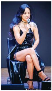 【2017亞洲最時尚女性臉孔】第38位:韓國女星李孝利(資料圖片)