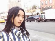 【2017亞洲最時尚女性臉孔】第39位:內地模特兒王路平(Luping Wang instagram圖片)