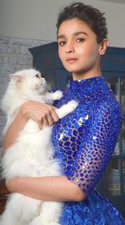 【2017亞洲最時尚女性臉孔】第41位:印度女星Alia Bhatt(Alia Bhatt instagram圖片)
