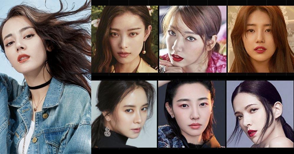 2017亞洲最時尚臉孔  Top 55靚女逐個睇