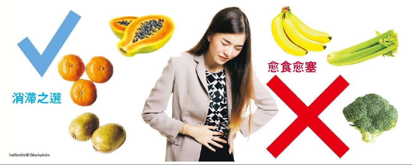高纖解決食滯便秘? 揀錯蔬果 腸胃大塞車
