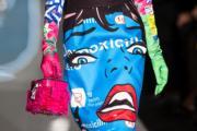 【米蘭時裝周】Moschino手袋(新華社)