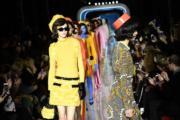 【米蘭時裝周】Moschino時裝展(法新社)