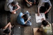 「香港人和事組」佳作 得獎者:吳嘉彥,作品:消失的棋盤,拍攝地點:藍田(國家地理雜誌提供 )