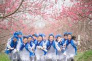 3月16日,2018中國·合肥桃花節在安徽合肥廬陽區三十崗鄉開幕。(中新社)