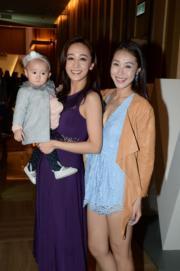 黃心美跟妹妹心妙及姨甥女出席。(攝影:黃梓烜)