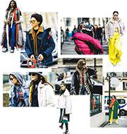 巴黎時裝周 臃腫「著多件褸」造型