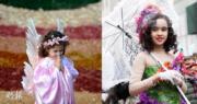 巴西米納斯吉拉斯州(左)及美國紐約(右)均舉行復活節活動。(法新社、新華社)