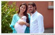 盧森堡二王子Prince Felix、Princess Claire於2014年6月誕下女兒Princess Amalia。(www.monarchie.lu網站截圖)