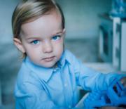 2017年6月,瑞典小王子Prince Nicolas 2歲生日。(Kungahuset facebook圖片)