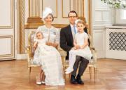 瑞典女王儲Princess Victoria(左)與王夫Prince Daniel育有一對子女,分別是小公主Princess Estelle與小王子Prince Oscar。
