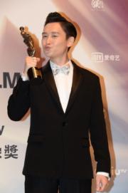 凌文龍憑《黃金花》奪最佳新演員。(攝影:娛樂組)