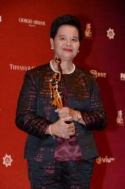 茶水阿姐Pauline獲頒專業精神獎,實至名歸。(攝影:娛樂組)