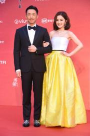 張繼聰和蔡卓妍擔任大會司儀,大家認為他們表現如何呢?(攝影:娛樂組)