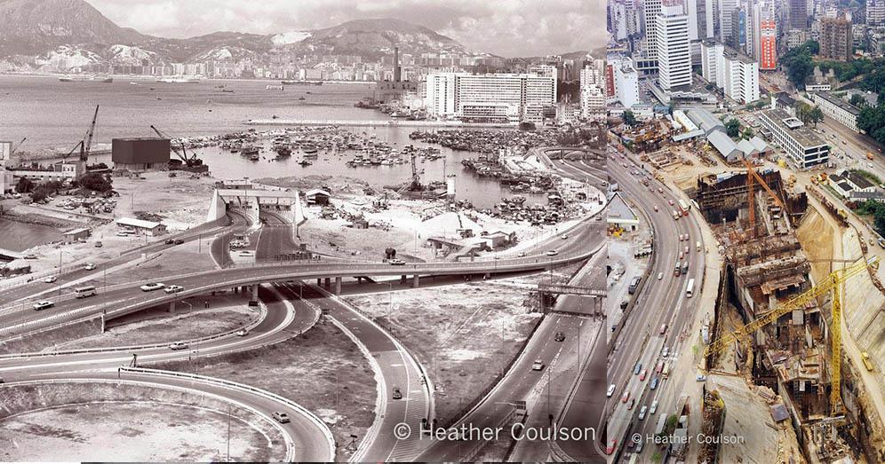 【今昔變遷】香港舊照片:紅磡海底隧道‧金鐘站‧獅子山隧道