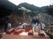1978年慶祝第二座獅子山隧道落成。(©Heather Coulson,圖片由香港大學提供)