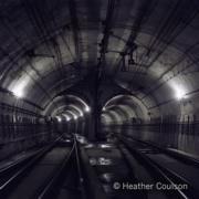 1979年,地鐵交叉隧道(©Heather Coulson,圖片由香港大學提供)