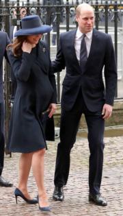 凱特(左)與威廉王子(右)(法新社)