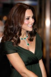 2018年2月18日,英國劍橋公爵夫人凱特出席有「英國奧斯卡」之稱的英國電影學院頒獎禮(BAFTA)。(法新社)