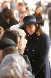 2017年12月14日,凱特出席在倫敦舉行的悼念儀式。(法新社)